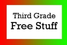 Third Grade Free Stuff / Free teaching ideas, worksheets and fun classroom activities for third grade students. / by Brian Crawford
