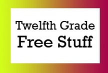 Twelfth Grade Free Stuff / Free teaching ideas, worksheets and fun classroom activities for twelfth grade students.