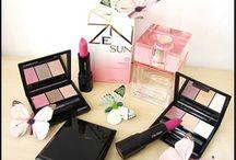 Pink Summer / Think Pink! Das Sommer-Board von Shiseido steht ganz im Zeichen von Makeup, Mode und Style-Trends in der Knall-Farbe Pink.