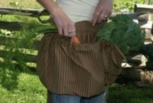 Aprons in the Garden