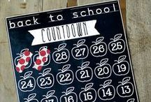 Back to School / It's a day you'll never forget – check out these tips and projects for your child's first day of school. / by Elmer's