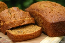 BREADS, MUFFINS, & ROLLS / Breads, rolls, biscuits, sweet breads.  There may be several banana bread pins, but each a little different recipe. / by Sam Blair