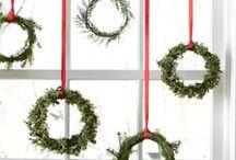 Season: Winter / Holiday's / Christmas and Holiday decor, food, party inspiration. DIY Christmas Ornaments, garlands, decor.