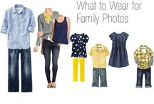 Portrait Outfit Guides / Helpful ideas for coordinating your look for our session!
