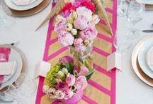 Ravishing Runners / A collection of unique and beautiful table runners.