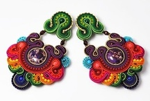 Soutache jewelry / My new fascination..