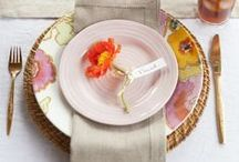 Place Setting / Forks, Plates, Napkins... anything to pep up your spot at the table!