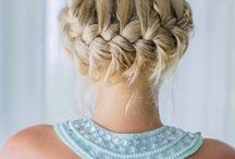 Hair Affair / I just love a new hairstyle idea or a hair taming tip to make my life easier. Here you'll find everything needed to keep your hair healthy, fun and doing what you want it to do. / by The Chic Site (Rachel Hollis)