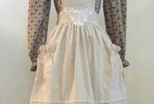 Classic White Aprons