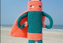 Yarn Bombing - Urban Knitting / by Portaldelabores.com