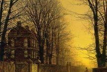 ARTIST - John Atkinson Grimshaw / .Grimshaw / by Sam Blair