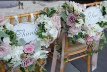 Shabby Chic meets Glam / What a combo for this wedding...A french chateau for the glam, but a tent to pull in the shabby chic...Blush tones, Gray, and Cream accented with Wood Elements, Crystals and Mercury glass...Stunning!   {My Bellissima - NY & NJ Wedding Planning and Special Events Design} www.mybellissima.com Photo Credit: Jamie K Photography