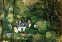 ARTIST - Paul Cezanne / .Paul cezanne  / by Sam Blair