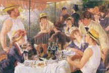 ARTIST - Pierre Auguste Renoir / .Renoir  / by Sam Blair