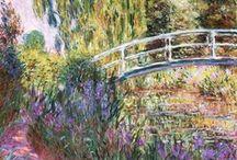 ARTIST - Claude Monet / .Monet / by Sam Blair