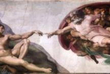 ARTISTS - Michelangelo di Lodovico Buonarroti Simoni / .Michelangelo  / by Sam Blair