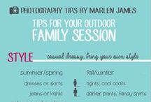 For Clients / A few ideas on what to wear for a family session!
