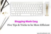 Blogging 101|Tips and Favorites / Tips for blog writing; favorite blogs