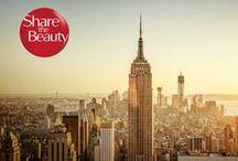 Share the Beauty / Share the Beauty - denn die schönsten Momente im Leben sind die, die man mit anderen teilt. Gewinnen Sie unvergesslich schöne Momente in New York!