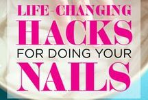 Nail art and care / How to take care of your nails and cool nail art ideas