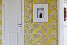 Ściany, Podłogi, Lampy / kolory, tapety, farby, drzwi