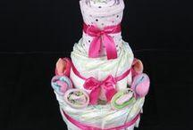 Pelenkatorta - Diaper cakes - Nappy cakes