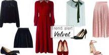Velvet / The trendiest velvet pieces!