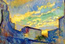 Peintres / Quelques tableaux de peintres favoris : P. Bonnard, E. Hopper, G. Klimt, etc. Mais aussi de merveilleuses découvertes de peintres inconnus, en particulier dans le domaine de la peinture abstraite et de la peinture américaine. / by Bernard Vermersch