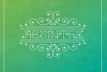In absent(i)a [Fée verte] / Absenta, absinthe, green fairy, fée verte, musa / hada verde. Malditismo (Rimbaud, Baudelaire & others), vida bohemia, Belle Époque / by Nanoediciones