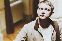 Martin Freeman / A brilliantly talented and absolutely gorgeous actor. In my mind he's perfect so deal with it. Made of kittens, jam, hedgehogs and rage ;) / by Conny Kaufmann