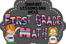 First Grade Math / This is a collaborative board to share crafts, ideas, and resources focused on First Grade Common Core Math. Feel free to post up to 2 items for sale per day when pinning a 1:2 ratio of sale to free resources to encourage unique content. Otherwise please pin one paid item per day. Thank you for your contributions making our board the best First Grade Math destination on Pinterest! To join this board please visit my blog at kindergartenboomboom.blogspot.com for instructions.
