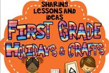 First Grade Holidays & Crafts / This is a collaborative board to share crafts, ideas, and resources focused on First Grade Holidays and Seasons. Feel free to post up to 2 items for sale per day when pinning a 1:2 ratio of sale to free resources to encourage unique content. Otherwise please pin one paid item per day. Thank you for your contributions making our board the best First Grade Holidays & Crafts destination on Pinterest! To join this board please visit me at kindergartenboomboom.blogspot.com.