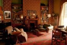 221b Baker Street - Interior Set Design / Design and props of the 221b Baker Street set for BBC One's Sherlock. Inspiration for interior design and where to get props or facsimiles thereof.  / by Conny Kaufmann