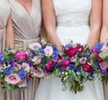 Colour inspiration: Purple and pink. / Wedding inspiration and ideas using purple and pink to style your wedding. First Light Photography, wedding photographer, Scotland.