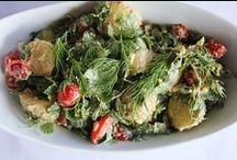 Vegan/Vegetarian Salads / Recipes of vegan or vegetarian salads