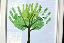 Crafts for kids / Craft ideas that are easy enough for kids. / by Anne García