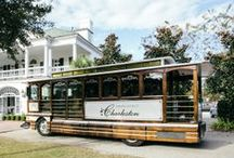 Absolutely Charleston Transportation / Absolutely Charleston has a transportation fleet of 10 different styles of vehicles that are available for any event in and around the Charleston,SC area, no matter the size! #absolutelycharleston #weddingtransportation #charleston #charlestonsctransportation #transportation #trolley #eventtransportation #charlestontransportation