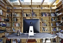 Guarden workspace / Perhaps I should have an office in my garden. Here are some ideas.