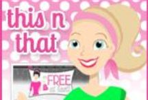 The Best of This N That with Olivia / Here is a compilation of the best items posted on This N That with Olivia. My blog features all kinds of items - recipes, Disney, product reviews and more.