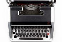 Typewriter stuff