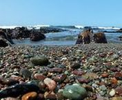 Moonstone Heart / The beautiful beach town of Cambria, California, was the inspiration for my newest novel. Moonstone Heart is a tragic love triangle set by the sea.