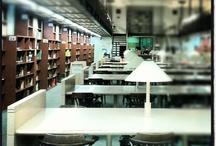 Espais i equipaments Biblioteca EUETIB / Imatges dels espais i equipaments de l'antiga Biblioteca de l'EUETIB
