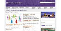 Intranet homepage / Screenshot di homepage intranet da tutto il mondo