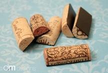 DIY: Wine bottles & Corks :)