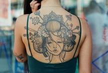 Fashion - Tattoos.  / I have none only coz i am an indecisive wench.