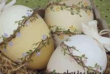 Pasqua / addobbi per la Pasqua e la primavera, idee e tutorial