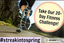 Bring On Spring! / Food, fitness, health & more to help you enjoy Spring to the fullest! On this board you'll find fun, outdoor workouts, gardening tips & more!