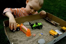 Play Time! / Play ideas for the boys / by Kat McCurdy