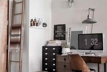 My upcycled office