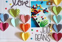 Scrapbooking LayOuts / Fun, creative page ideas to try.